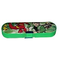 Ben10 Plastic Pencil Case  - Green