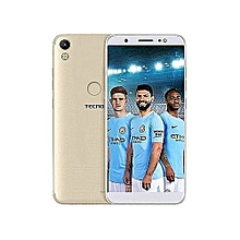 "Camon CM - 5.7"" - 16GB - 2GB Ram - 13MP + 13MP Cameras - Android Nougat 7.0 - Dual Micro SIM - Gold"