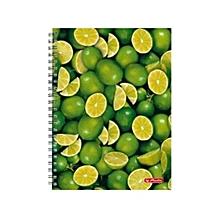 Herlitz Spiral Square Pad A4 Notebook - Lemon