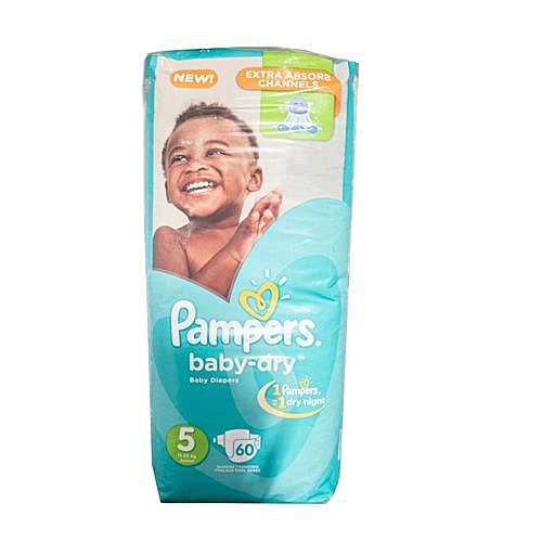 ec117b586b PAMPERS Baby Dry Junior 60 Count, Size 5 @ Best Price Online | Jumia ...