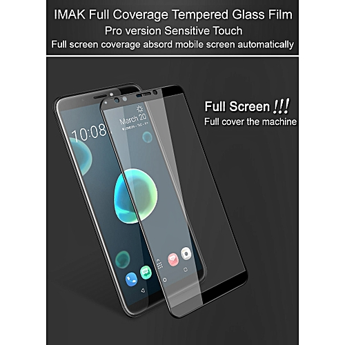 85a40c24d514d9 Imak Pro+ Screen Protector For HTC Desire 12Plus Full Cover Tempered Glass  Protective Glass For HTC Desire 12+ Full Glue Absord