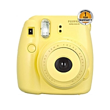 Instax Mini 8 Instant Film Camera – Yellow