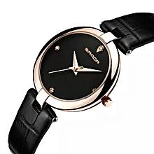 Fashion Wrist Watch - Black