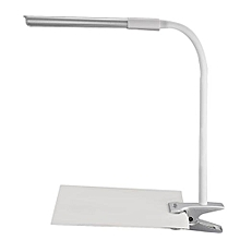 YK2254 - DC 5V 5W 200LM Clip Fixtures LED Desk Light Table Lamp With 24 LEDs - Silver
