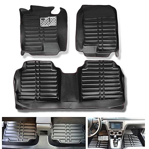 For Hyundai Sonata 2014 2018 Car Floor Mats Liner Front Rear Carpet