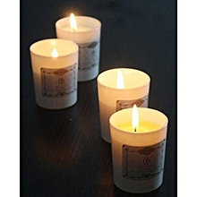 Romantic Soy Wax Aromatherapy Candles -White