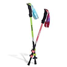 Naturehike 3 Section Trekking Pole Adjustable Folding Walking Stick Camping Aluminium Alpenstock