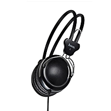 HOCO W5 Gaming Adjustable Wired Hands Free On-ear Headphone Headset with Mic for iPhone Xiaomi Huawei