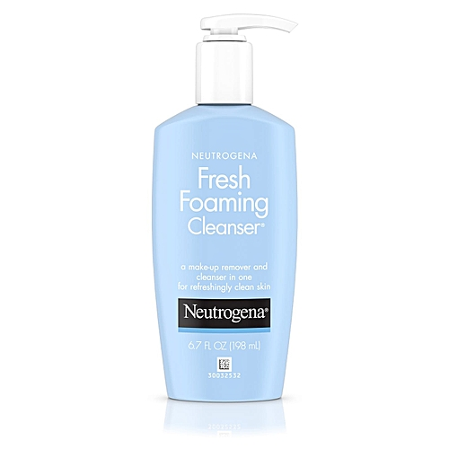 Neutrogena Fresh Foaming Cleanser (Make-up Remover + Cleanser) 6.7 OZ