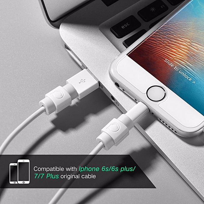 975f00137b6875 ... UGREEN Cable Protector, 6 Packed Lightning Cord Saver, Apple Charging  Cable Clip Protector Protective ...