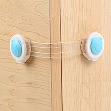 10pcs/lot Doors Drawers Wardrobe Safety Locks Toddler Baby Children Protection Plastic Lock Kids Safe Locks - 10/15.5cm