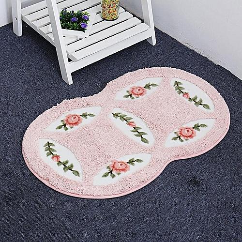 Buy Generic Mesh Coral Fleece Outdoor Mats Bathroom Home Area Rugs