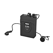 BOYA BY-WM5 Wireless Microphone System with Transmitter Receiver Lapel Mic Earphones for  Nikon Sony DSLR Camcorder Audio Recorder