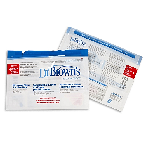Buy Dr Browns Microwave Steam Sterilizer Bag 5pk Best Price