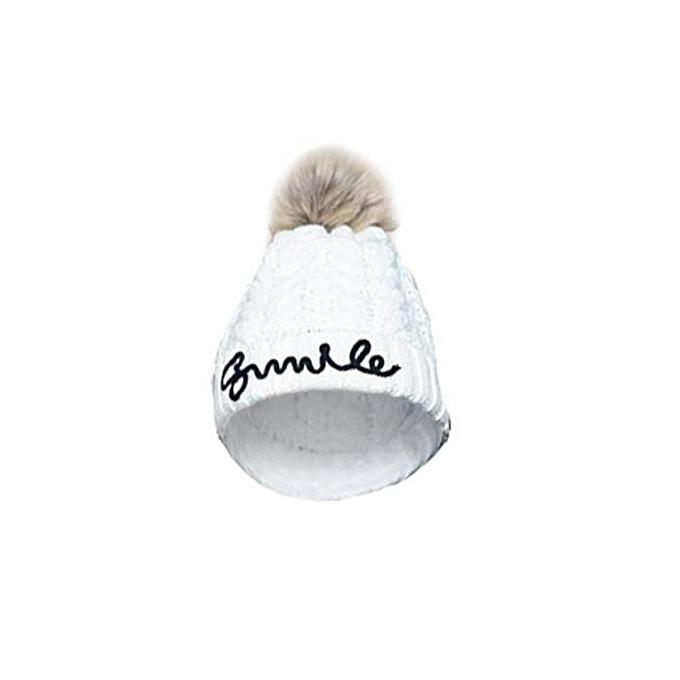Generic Women Winter Letter Crochet Earflap Keep Warm Hat WH   Best ... b2d3675cf