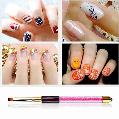 Buy Zlime 1pc Uv Gel Pen Nail Art Carving Pen Brushes Handle Salon