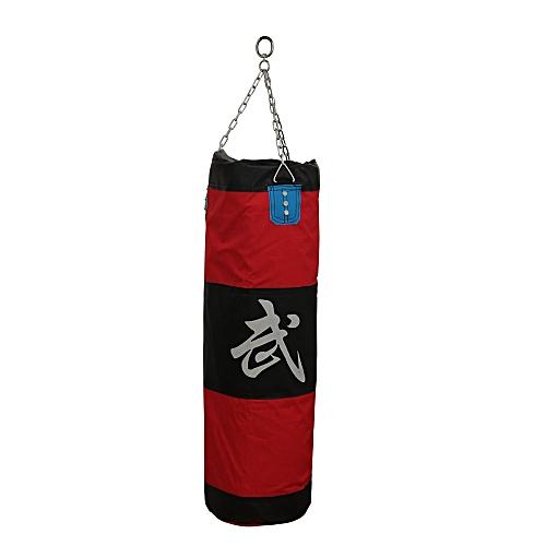 Thai Karate Boxing Punching Punch Kick Padded Bag Chain Accessory Set