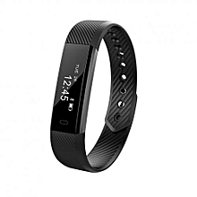 ID115 Smart Bracelet Fitness Tracker Passometer Sleep Monitor Track Smart Band
