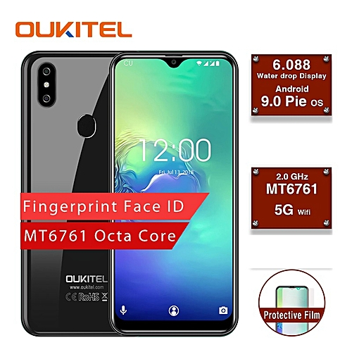 OUKITEL C15 Pro Android 9 0 Mobile Phone 4G LTE Smartphone Waterdrop Screen  2+16GB Capacity
