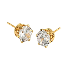 Gold  Coated Earring Studs L