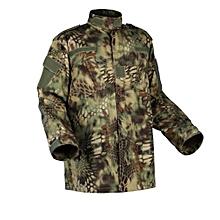 Hot Item Rattlesnake Camouflage Fatigues Training Uniforms Python Fans CS Training Suit-01