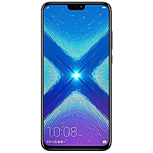 Honor 8X - 64GB+4GB RAM - 20MP Dual Camera - Black
