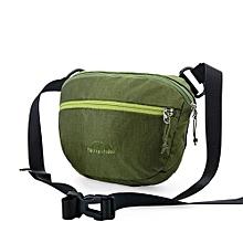 2L Waist Bags Handbag Sports Bag Outdoor Sports Mens Women Black Hiking Camping Cycling Messenger Bag(Green)
