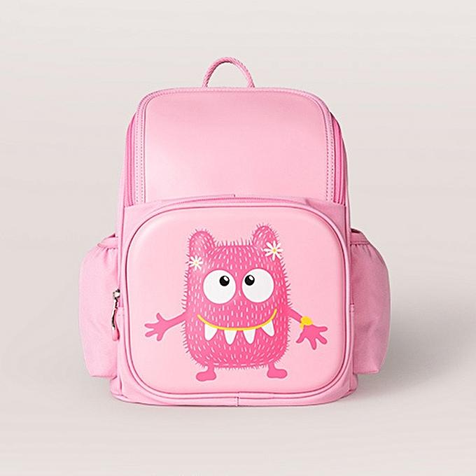 bd2ace9b3b62 ... Xiaomi 3D Little Monster Style Kid Children Backpack Lightweight School  Student Travel Bag Rucksack ...