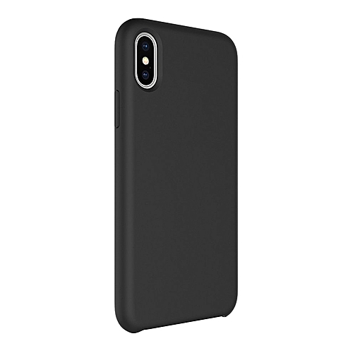 pretty nice 70623 630c2 CO Silicone Phone Case Drop Protection For iPhone-Black