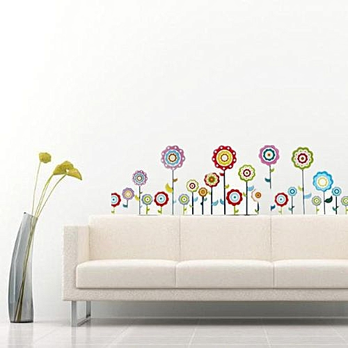 Phenomenal Removable Flowers Wall Sticker Sticker Decor Home Bedroom Living Room Child Baby Download Free Architecture Designs Rallybritishbridgeorg