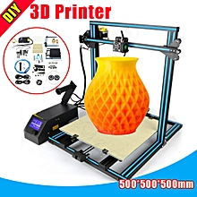 CCTREE Creality CR-10 3D Printer DIY Kit 3 Large Print Sizes 1.75mm 0.4mm Nozzle