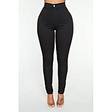 Black High Waist Jeans
