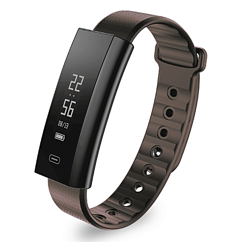 Smart Wristband Fitness Tracker OLED Touch Screen BT 4.0 Nordic CPU Smart Band / Watchband Heart Rate Monitoring Blood Pressure Monitoring Pedometer Smart Bracelet / Watch for iOS 8.0 & Android 4.4