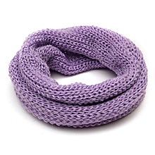 Boys Girls Toddler Circle Cowl Snood Knit Scarf Baby Kids Neck Warm Neckerchief