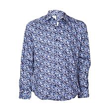 Dark Blue Casual Shirt
