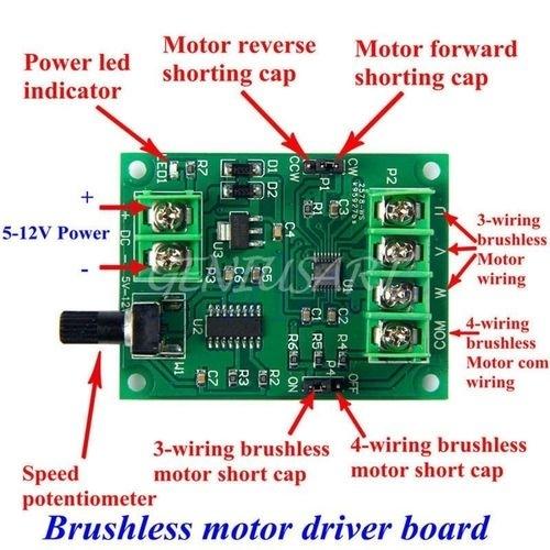 buy universal yosoo 9v 12v dc brushless motor driver board rh jumia co ke