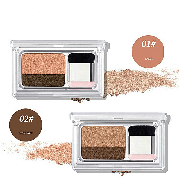Generic 16gecomo Double Color Gradual Change Pearlescent Eye Shadow