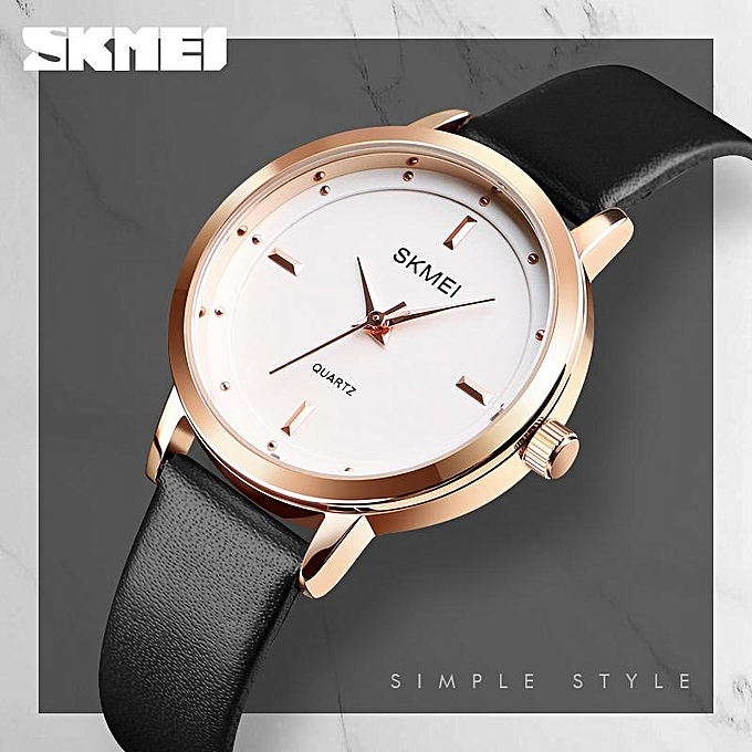 785708a8f62e SKMEI Brand High Quality Women Watches Luxury Leather Woman Watch Montre  Femme Fashion Quartz Wrist Watches ...