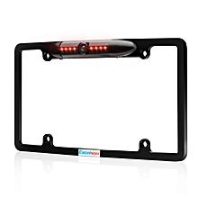 License Plate Backup Camera High Sensitive - Black