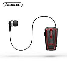 LEBAIQI Remax RB-T12 collar clip Bluetooth headset super long standby universal mobilephone earphone type universal wear comfortable