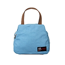 Fashion Portable Insulated Canvas lunch Bag Thermal Food Picnic Cooler Lunch Bags Lunch Box Bag