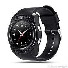 V8 Smart Watch - Black