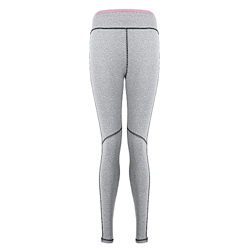 dfdf01c4386a5 Generic Yoga Pants Tight Sport Leggings For Running With Side Stripe -  Shallow Pink
