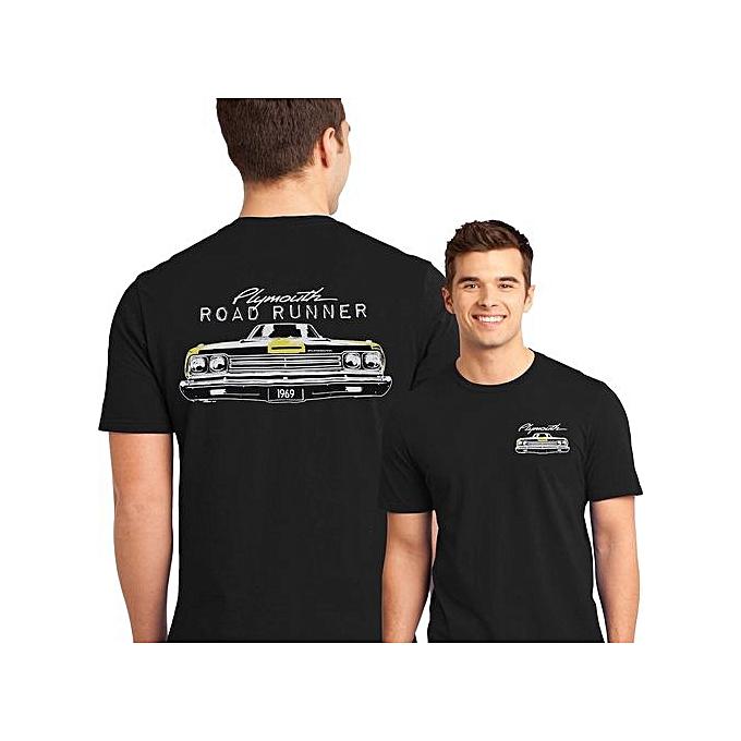 773908a3 Fashion Muscle Car T Shirt 1969 Plymouth Road Runner MOPAR Mens ...