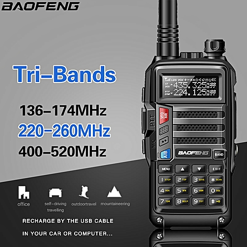 2019UV-S9 High Power 8Watts Portable Walkie Talkie 10km Long Range CB Radio  Transceiver for Hunt Forest City Upgrade 5R ObeyQ