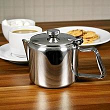 Stainless Steel Teapot, Metal Teapot - 3 Cup Teapot, Cafe Teapot, Diner Teapot - 20oz / 600ml