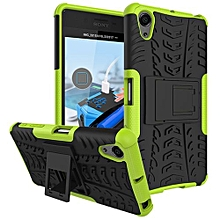 "For Xperia [X Performance] Case, Hard PC+Soft TPU Shockproof Tough Dual Layer Cover Shell For 5.0"" Sony XP, Green"