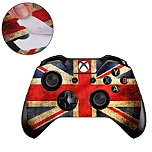 For Xbox One Console Controller Shell Handle Panels Skin Decal Sticker Cover British Flag