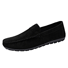 Summer Style Young Cool Men's Casual And Comfortable Driving Bean Solid Shoes