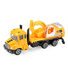 THE NORTH E HOME Kids Alloy 1:64 Scale Excavator Truck